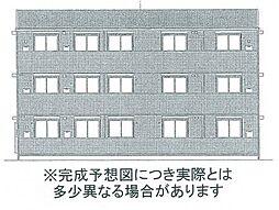 アスターエイト A棟[1階]の外観