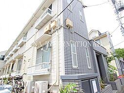 東京都調布市布田5丁目の賃貸アパートの外観