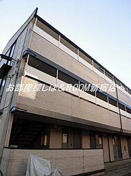 埼玉県草加市草加3丁目の賃貸マンションの外観