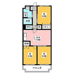 MANSION・ITO[1階]の間取り
