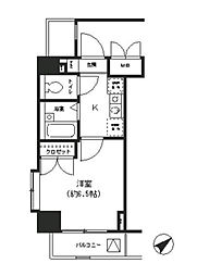 T&G東池袋マンション[5階]の間取り