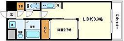グランドステージ十三[11階]の間取り
