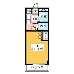 Gハイツ97[2階]の間取り