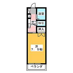 薬師NOVA[1階]の間取り