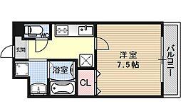 リベロ上田[305号室号室]の間取り