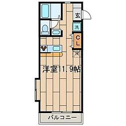 MONOLITH COURT (モノリスコ-ト)[3階]の間取り
