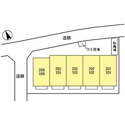 (仮)円正寺ルピナ[103号室]の外観