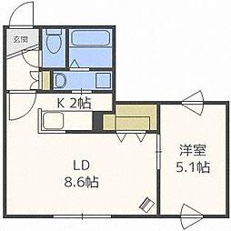 AGITO[4階]の間取り
