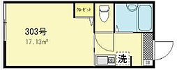 アークガーデン亀戸[3階]の間取り