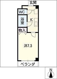 WEST COAST[2階]の間取り