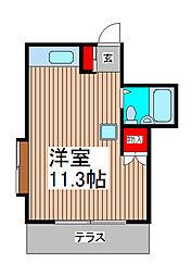 サウザーレ[2階]の間取り