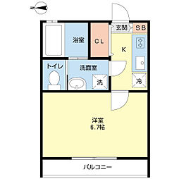 篠崎駅 5.3万円