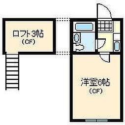 ネストリバーサイドKITAGAWA[1階]の間取り