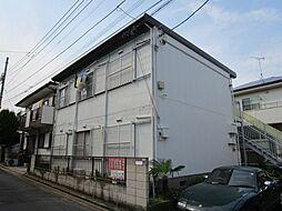 千葉県船橋市松が丘4丁目の賃貸アパートの外観