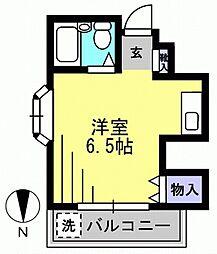 あらいコーポ[305kk号室]の間取り