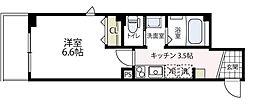 (仮称)ビューノ伊勢町[202号室号室]の間取り