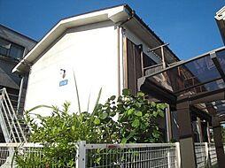 東京都日野市大坂上3丁目の賃貸アパートの外観