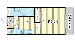 パーソナル飯田12[101号室]の間取り