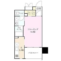 RJR プレシア 博多[8階]の間取り