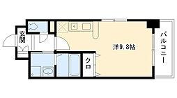 アッシュコート夙川公園[502号室]の間取り