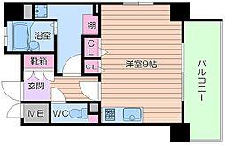 レジェンドール大阪天満 G-レジデンス[8階]の間取り