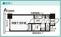 Nasic仙台東口[811号室号室]の間取り