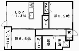 Act Dream Home[1階]の間取り