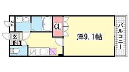 グランエスト[3階]の間取り