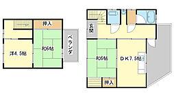 [一戸建] 兵庫県姫路市南八代町 の賃貸【/】の間取り