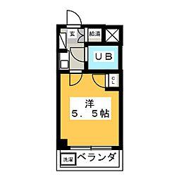 アイチハートマンション[1階]の間取り