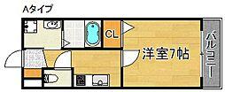 カリーノRプリマヴェーラ[4階]の間取り