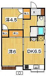 [一戸建] 神奈川県小田原市扇町2丁目 の賃貸【/】の間取り