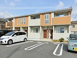 滋賀県甲賀市水口町宇川の賃貸アパートの外観