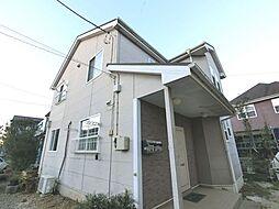千葉県八街市希望ヶ丘の賃貸アパートの外観