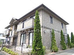 兵庫県たつの市揖西町土師の賃貸アパートの外観
