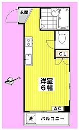 ハイツセイコー[1階]の間取り