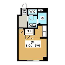 トミイビルNo.17[3階]の間取り