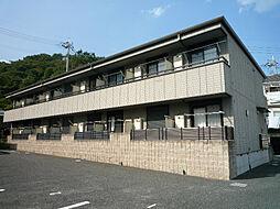 大阪府高槻市奈佐原4丁目の賃貸マンションの外観