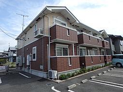 兵庫県加古郡播磨町北本荘3丁目の賃貸アパートの外観