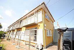 埼玉県越谷市蒲生本町の賃貸アパートの外観