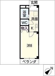 エスペラール鴻ノ池[3階]の間取り
