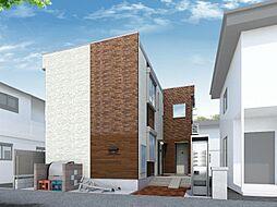 埼玉県新座市東の賃貸アパートの外観