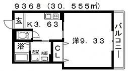 古市4丁目新築マンション[105号室号室]の間取り