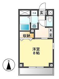 サン名駅南ビル[4階]の間取り