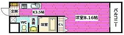 広島県広島市南区東青崎町の賃貸マンションの間取り