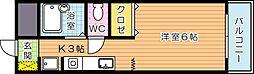 ケントクレール黒崎(分譲賃貸)[4階]の間取り