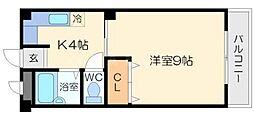 メゾンササキ[2階]の間取り