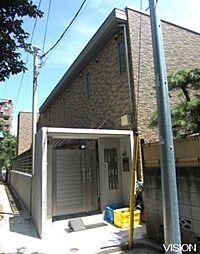 東京都板橋区中台2丁目の賃貸アパートの外観