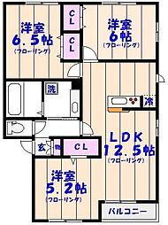 仮)D-Room妙典5丁目[202号室]の間取り