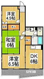 マチマンション[3階]の間取り